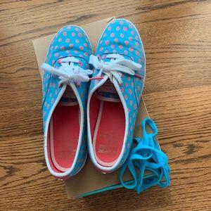 Keds x Kate Spade Aqua blue tennis shoes